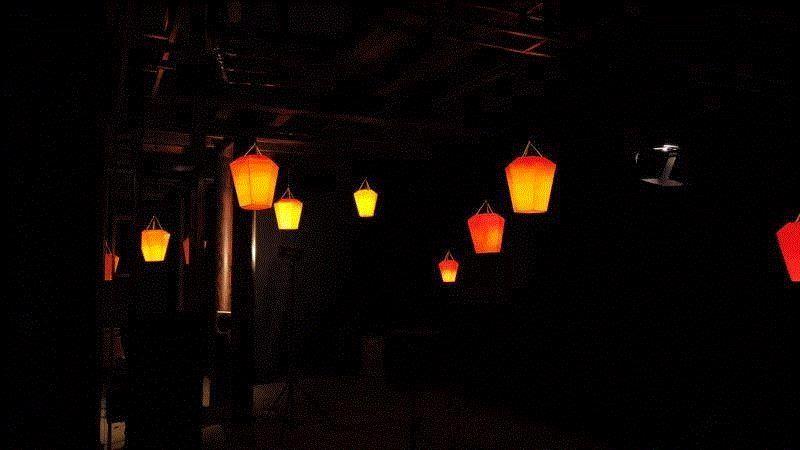 """朱玑阁夜景(供图:方黄洁羽),仅有2天,上海音乐学院邀你来千年古镇""""听园"""",上海音乐学院,古镇,朱玑阁,音乐,大提琴,青年,演奏家,科技,新媒体,朱家角"""