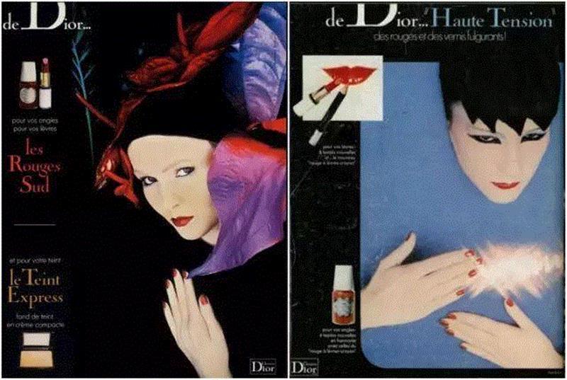 芦丹氏为Dior彩妆设计的妆容和形象,他幼年遭父母抛弃,长大后沉迷于女人体香,终成一代美学大师,美学,幼年,长大后,体香,芦丹氏,香水,Vogue,彩妆,广告,资生堂