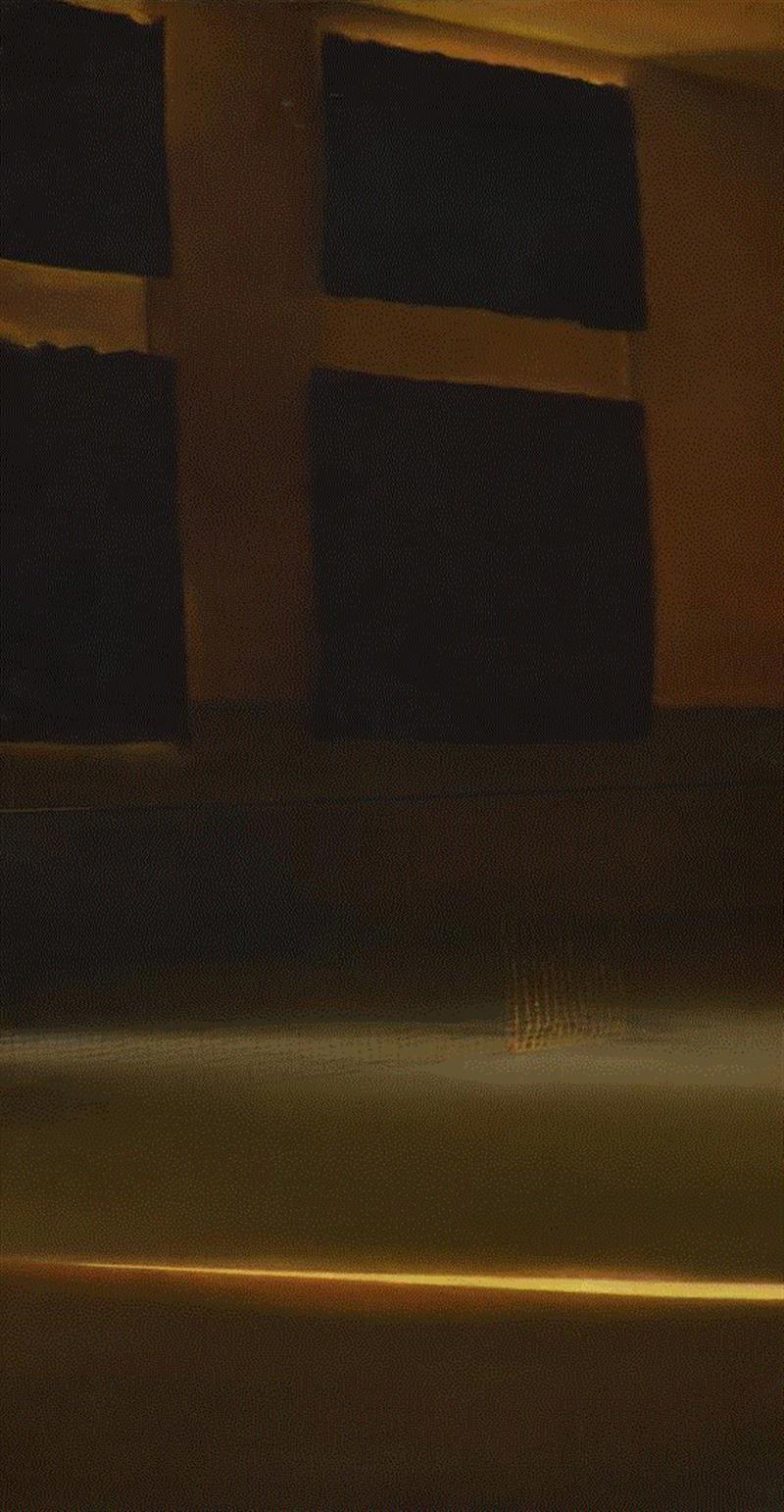 王光乐,《午后之三》,布面油画,170×60cm,2000,论坛回顾   形式与态度:2000年以后的抽象绘画,绘画,现实主义,谢墨凛,仇晓飞,政治,王光乐,电脑,主体性,材料,刘韡