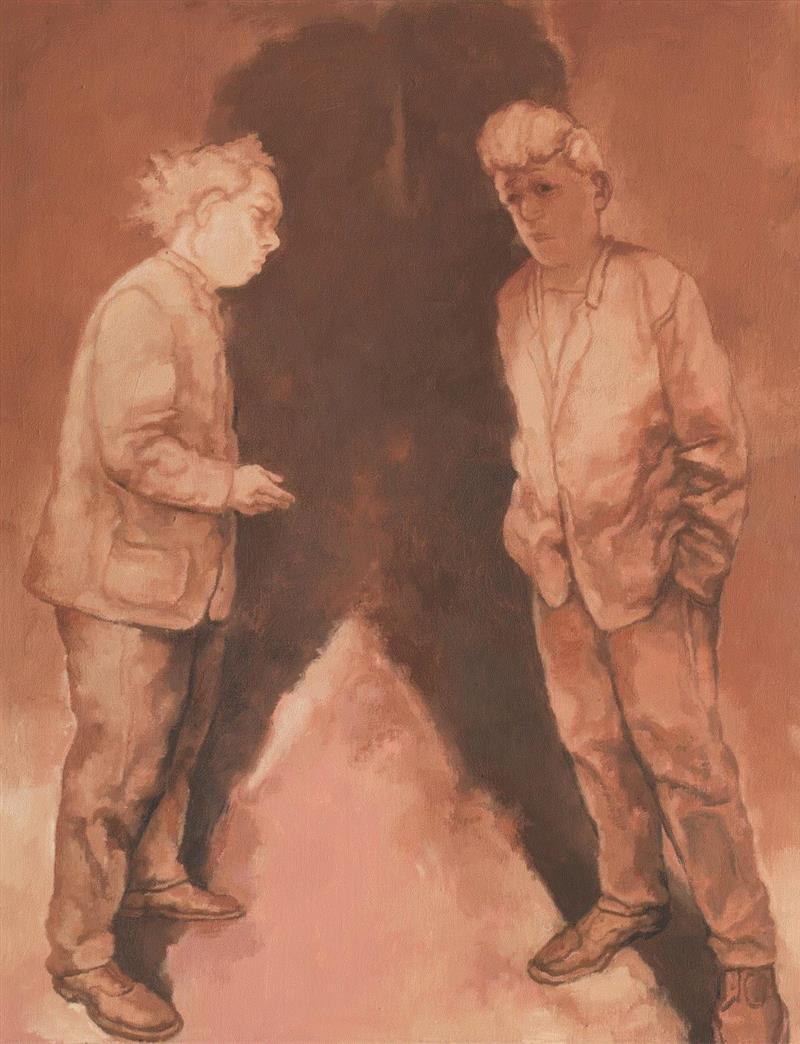 冯博一:现实墟 · 视觉误——苏新平的视觉修辞,苏新平,冯博一,修辞,油画,版画,荒原,痕迹,人物,现代性,内蒙古