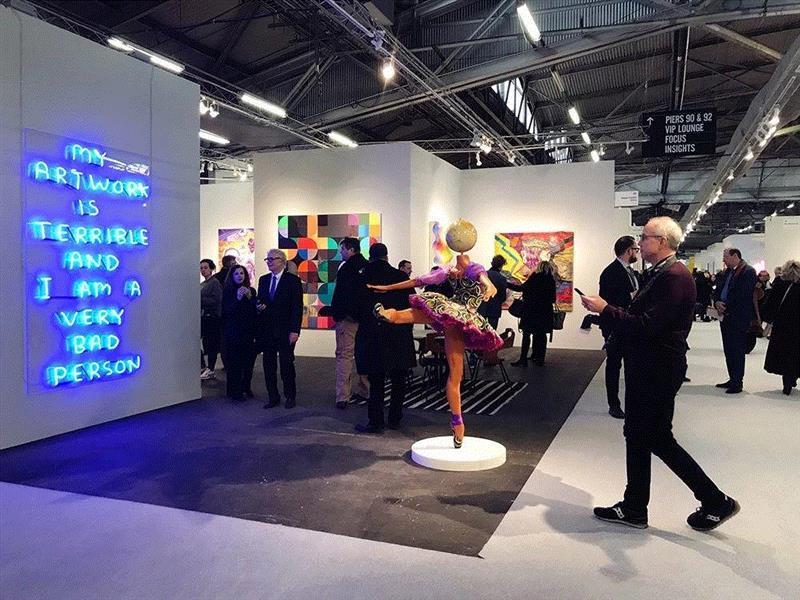 """直击2019 纽约军械库艺术博览会 细数那些受瞩目的亮点作品,""""世界实验书法""""与""""国际水墨经验""""的展现: """"第二届驭墨""""将在2019年5月6日于布鲁塞尔开幕"""