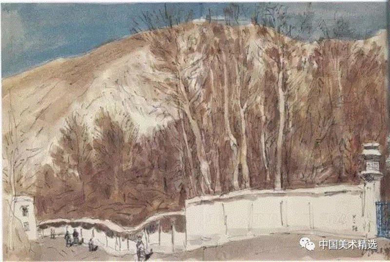 艺术家是天生的,素描,常识,孤岛,中央美术学院,绘画,西藏组,天才,一棵树,树枝,树叶