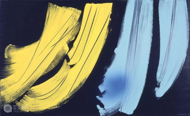 Hans Hartung,T1973-H42,1973,汉斯·哈同|情绪的力量,艺术史,哈同,Hartung,汉斯,汉斯·哈同,抽象绘画,抒情抽象