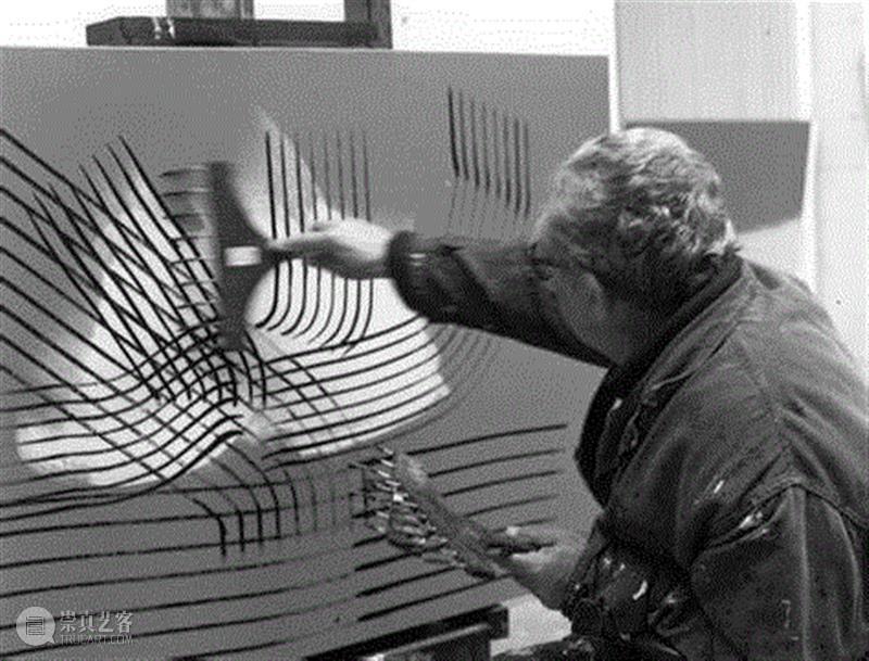 Hans Hartung,汉斯·哈同|情绪的力量,艺术史,哈同,Hartung,汉斯,汉斯·哈同,抽象绘画,抒情抽象