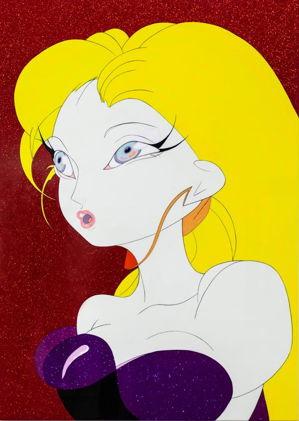 天野喜孝,Candy Girl M - 1, 2008.jpg