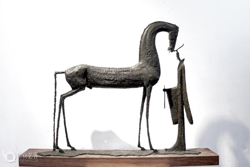 苏锦驹 《王与马系列—驭》 98cm×14cm×74cm 雕塑 铸铜 2017年 广州美术学院;12843-1.jpg