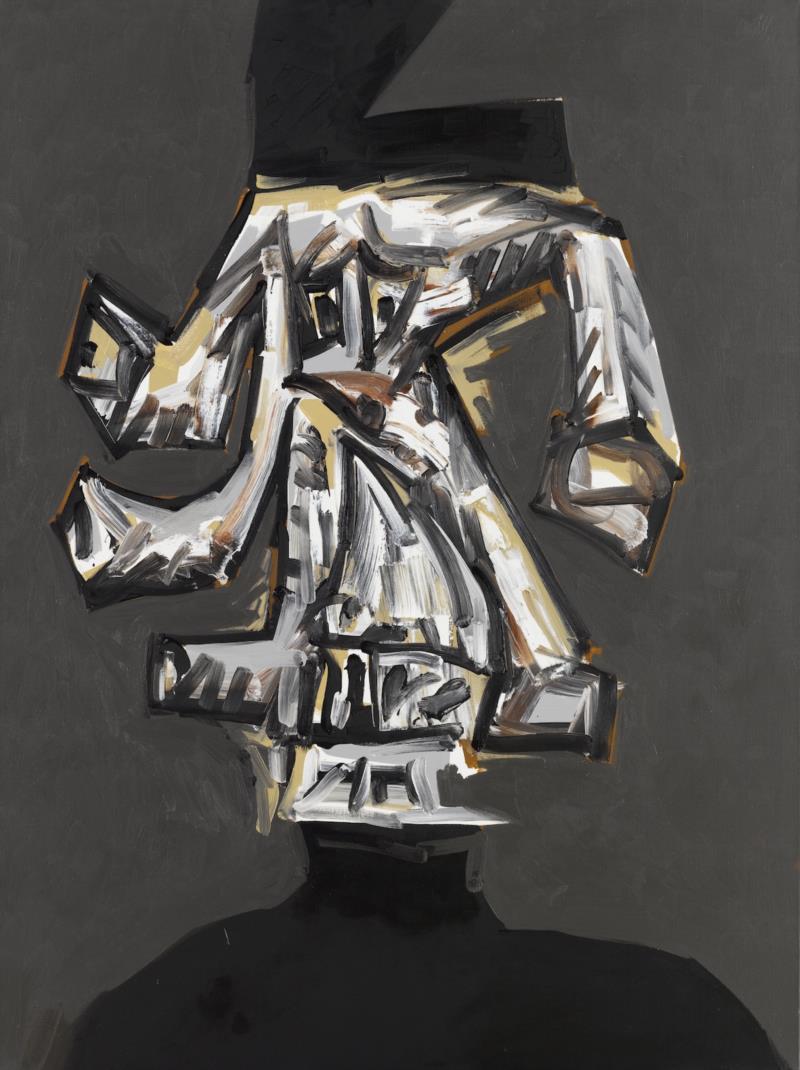 安东尼奥·索哈《自画像1981》布面油画130 x97 cm 1975.jpg