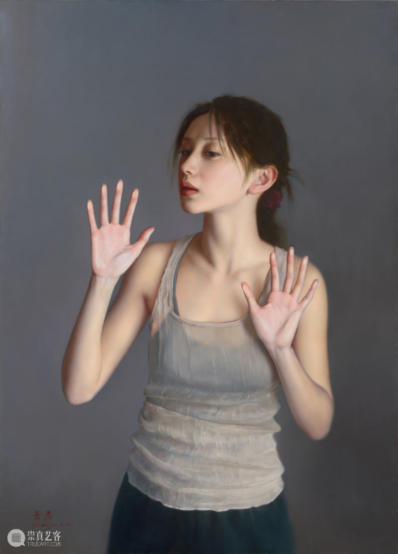《一切是否完好如初》布面油画 105x75cm 2011.jpg