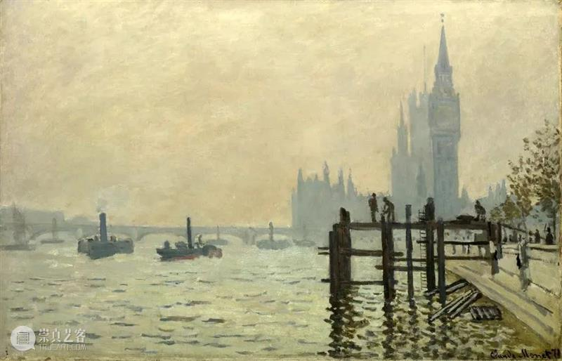 莫奈背后的男人——杜朗·卢埃尔 杜朗 卢埃尔 莫奈 背后 男人 伦敦 街头 小编 印象派 历史 崇真艺客