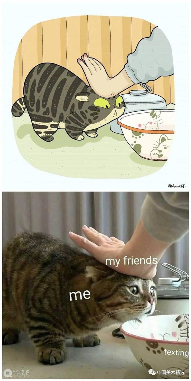 做一只有趣的猫咪 猫咪 插画师 ROCKYS 瞬间 原图 灵魂 画作 作品 往期 好文 崇真艺客