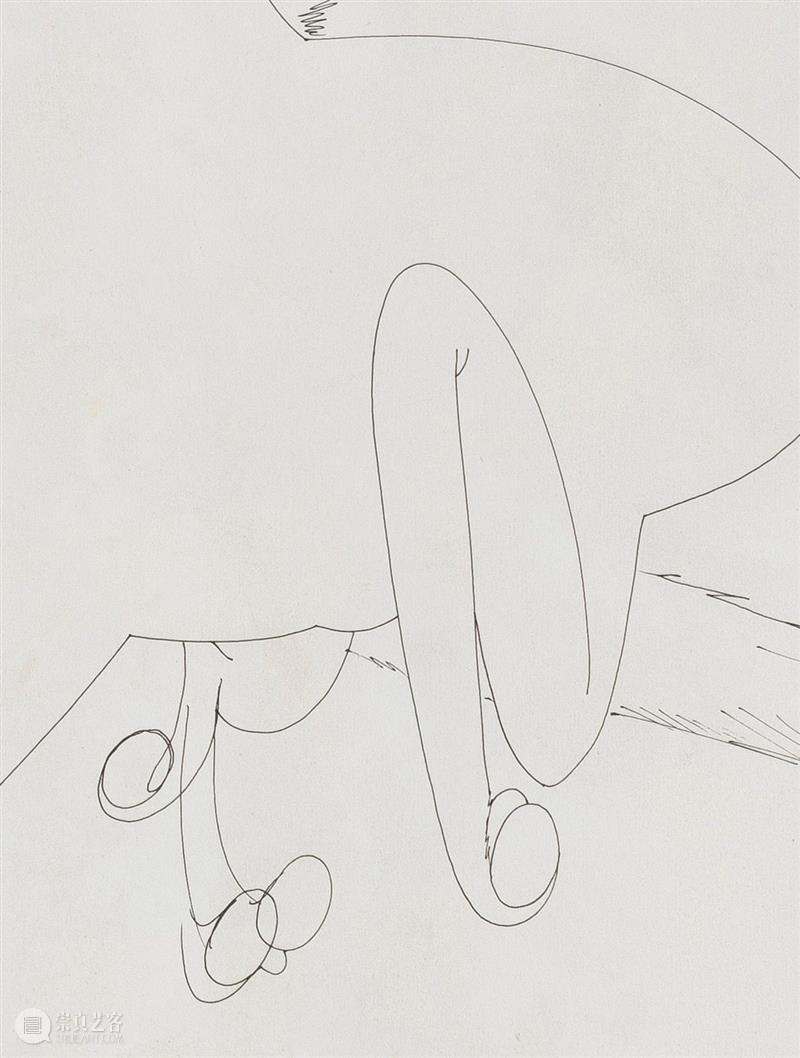 今天展出宋拓的第五件作品。 作品 宋拓 Mule 啫喱 纸上 奔骡 细节 detail 艺术家 北京公社 崇真艺客
