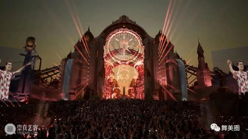 【挑战虚拟技术极限】Tomorrowland 2020数字音乐节幕后解密 Tomorrowland 音乐节 数字 技术 极限 幕后 疫情 世界 比利时 官方 崇真艺客
