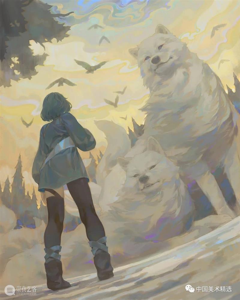 柔和的调子 调子 系列 作品 故事 镭射感 色彩 画面 光影 调性 故事情节 崇真艺客