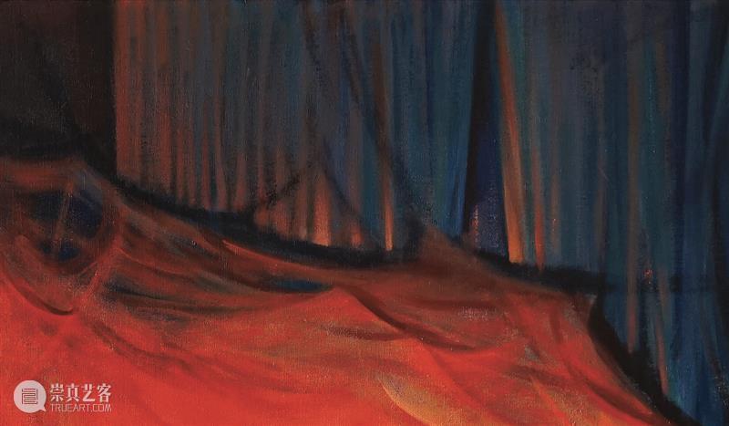 幕帘——《飞慢》张博夫个展 张博夫 个展 幕帘 飞慢 林妍 火焰 人类 世界 概念 生命力 崇真艺客