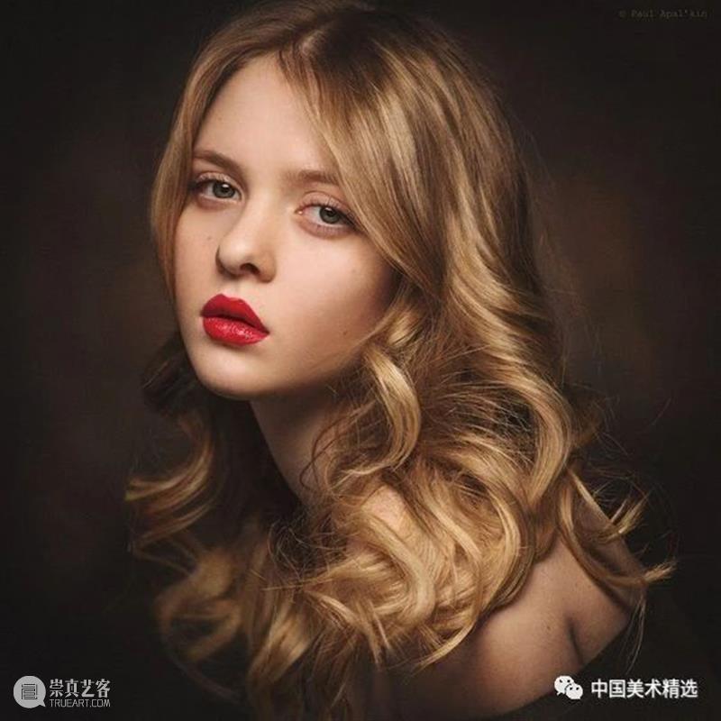 肖像绘画参考素材  中国美术精选 肖像 素材 Apalkin 生涯 个人 风格 之后 古典 概念性 肖像画 崇真艺客