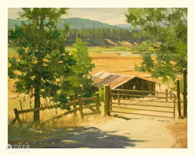 【农村风景写生】大自然的颜色真的太高级了!怎么画都好看!  学美术,看▷ 农村 风景 大自然 颜色 画都 END 崇真艺客
