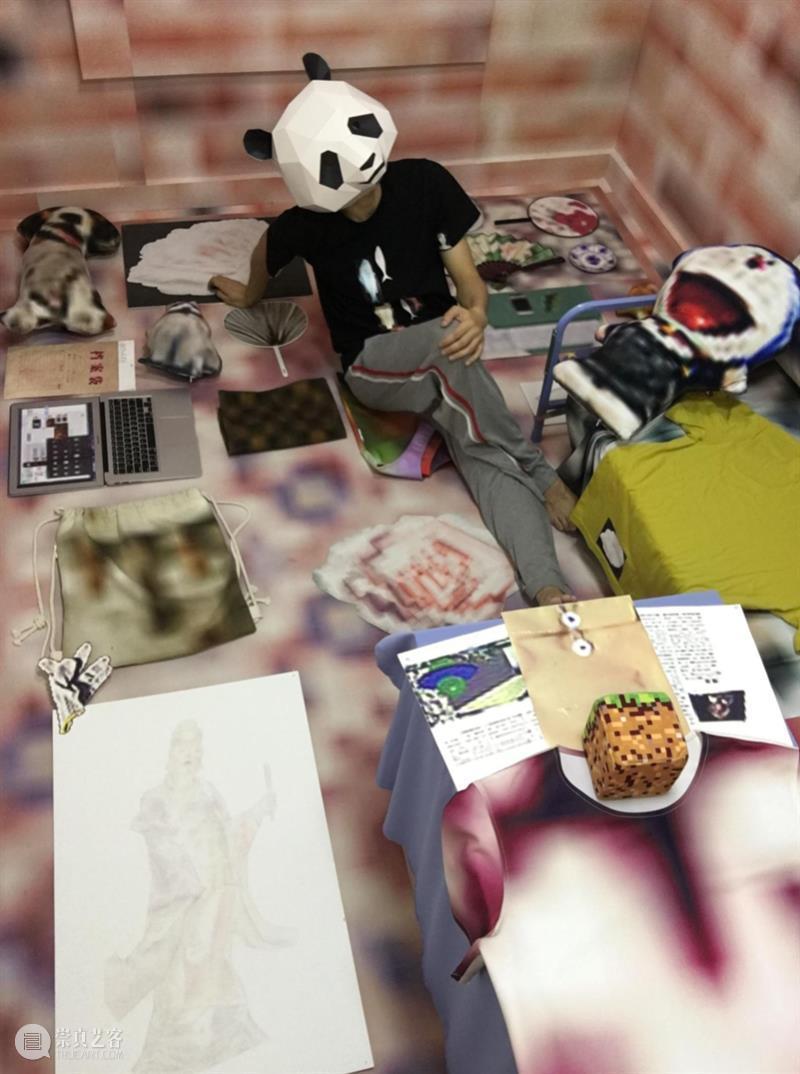 离线·劳家辉 | 多面劳家辉离线的1/N 劳家辉 离线 危机 艺术家 系列 疫情 小区 广州 游戏 绘画 崇真艺客