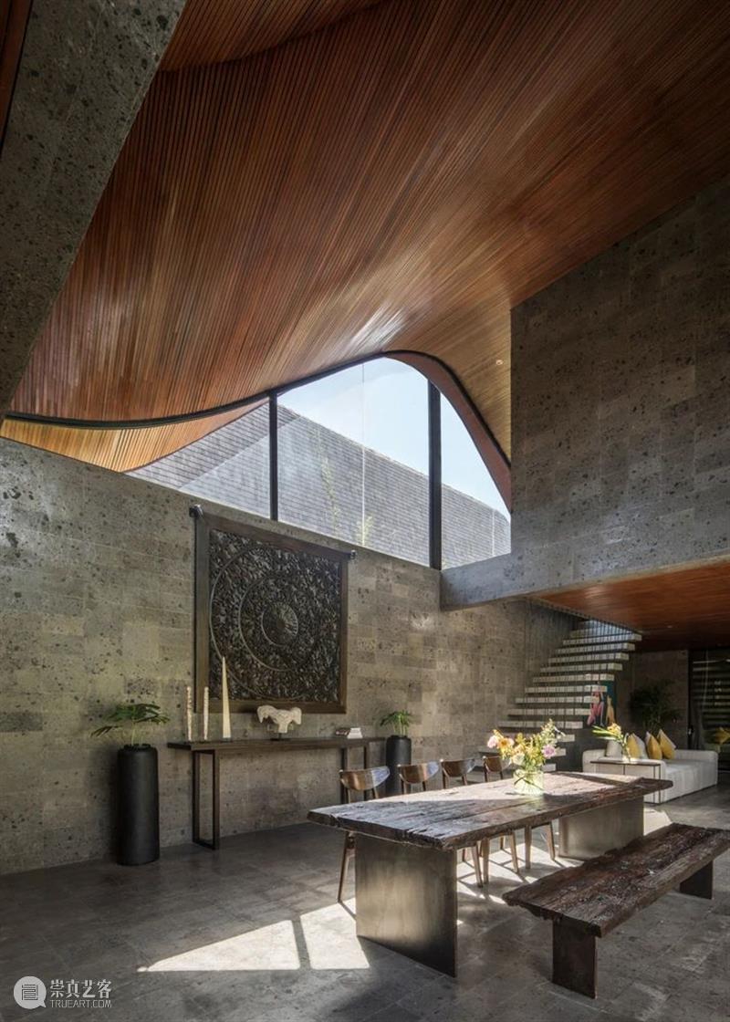 '起伏'私宅 / Alexis Dornier 私宅 Dornier KIE 建筑 思维 结果 箱状 体块 客厅 厨房 崇真艺客