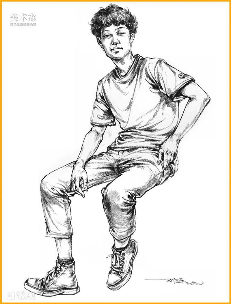 【人物速写】把人物画得动起来,画面就会富有生动性! 人物 画面 静态 问题 分数 小志 团队 表情 动作 同学们 崇真艺客