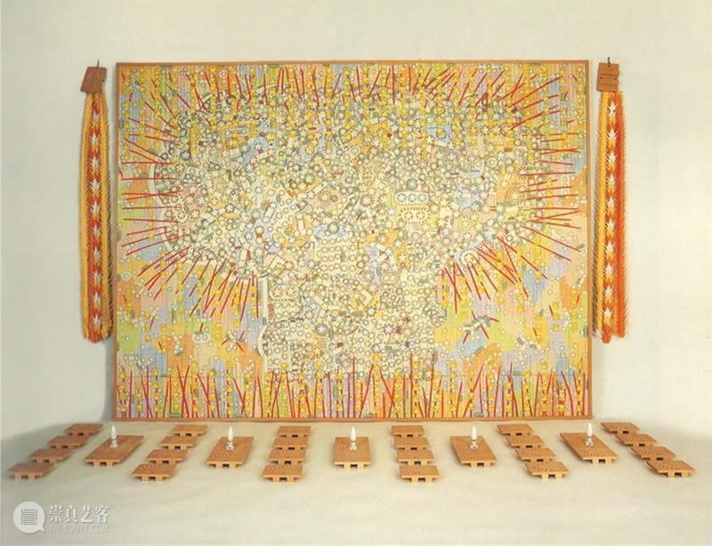 作品背景|樱花曼荼罗空间 作品 背景 樱花曼荼罗空间 樱花 原子弹 丙烯颜料 塑料球 时候 个人 经历 崇真艺客
