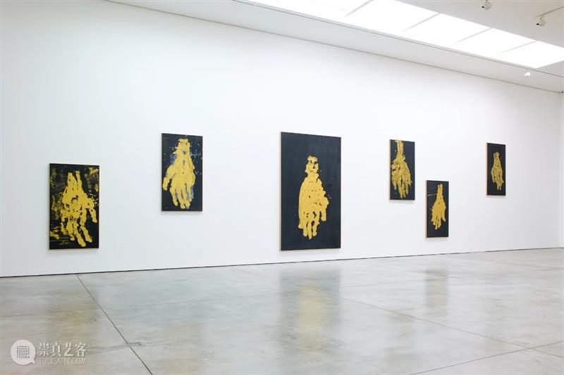 【白立方伦敦】乔治·巴塞利兹 (Georg Baselitz) : 黑·金 Baselitz 乔治 巴塞利兹 立方 伦敦 Maniera framed Littkemann Berlin Cube白立方伦敦梅森苑空间 崇真艺客
