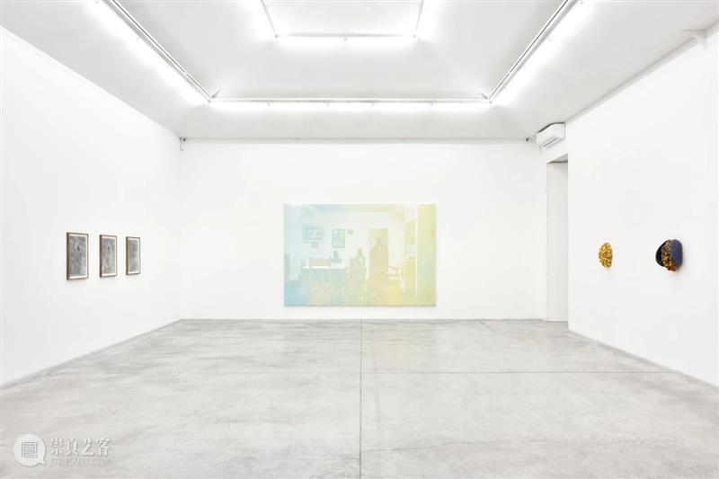 展览现场   艾伦·琼斯(Allen Jones)@ 阿尔敏·莱希伦敦 艾伦 琼斯 阿尔敏 莱希 伦敦 Allen Jones 现场 布面 油画 崇真艺客