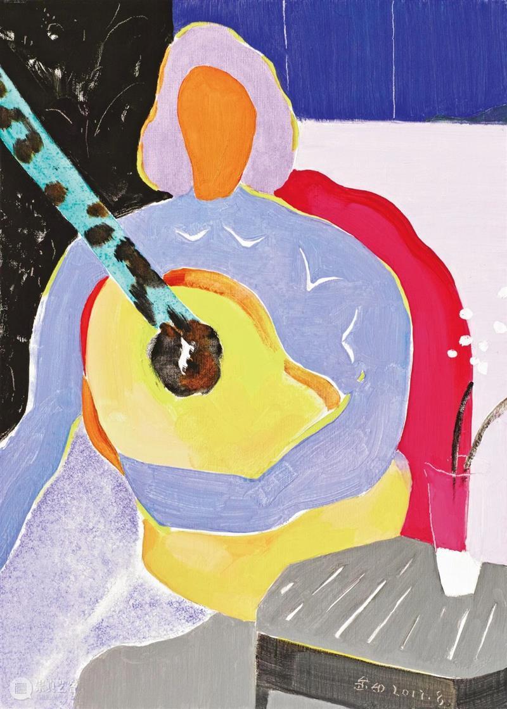 逸空间 分享|金田:我想创造类似音乐的节奏感 视频资讯 逸空间画廊 金田 音乐 空间 节奏感 彩云 画家 自制版 一般人 眼里 绘画 崇真艺客