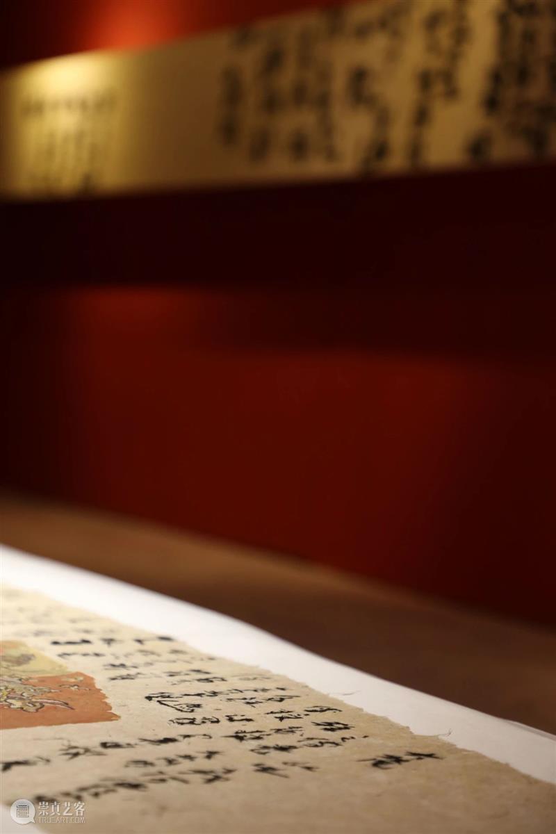 第三届《高山坠石:书写艺术探索展》顺利开幕 博文精选  高山坠石 吴从容 上海新桥美术馆 崇真艺客