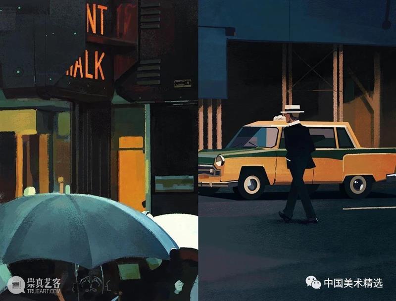 这色彩有光 色彩 韩国 插画师 作品 画风 眼前 往期 好文 海水 光影 崇真艺客
