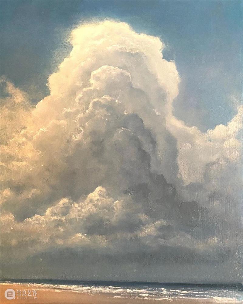 想知道【云】的画法吗?这位画家的实力太强大了! 画法 画家 实力 END 崇真艺客