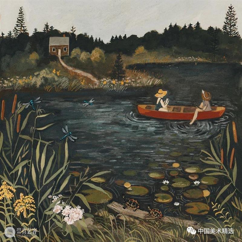 是向往的生活 生活 插画家 Loré Pemberton 丈夫 女儿 佛蒙特州北部 园艺 原生态 作品 崇真艺客
