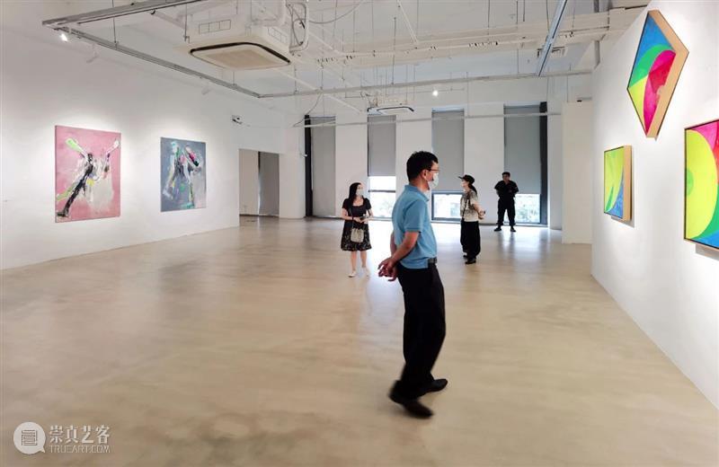 """单增 :""""积聚与生成——2020上海当代艺术展""""参展艺术家 单增 艺术家 艺术展 上海 作品 Works 乾坤19 布面 油画 绘画 崇真艺客"""