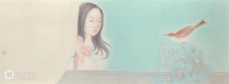 后浪致静 |【第三季】当代青年水墨 青年 水墨 上海 泓盛 微信 程序 展厅 专场 国内美术院校 艺术家 崇真艺客