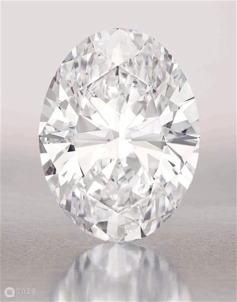 蘇富比无底价上拍   102.39卡拉椭圆形完美巨钻 椭圆形 巨钻 底价 蘇富比 世界上 瑰宝 拍卖史 形式 今秋 香港 崇真艺客