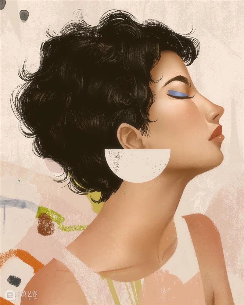 气质这一块拿捏得死死的,气质型美女就得这么画! 气质 美女 END 崇真艺客