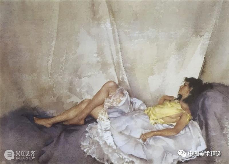 顶尖水彩大师的人体画作 水彩 人体 大师 画作 Flint 英国 画坛 盛誉 油画 蛋彩画 崇真艺客