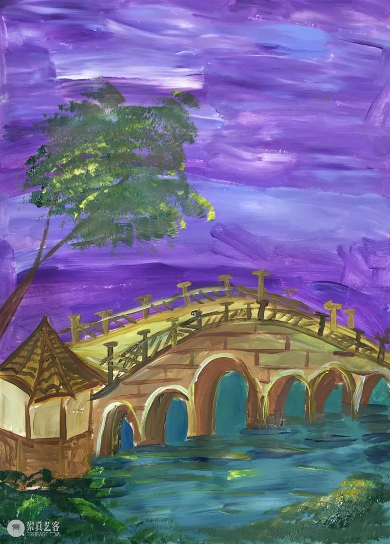 绘生活的夏天,只要流光、艺术和你 生活 艺术 PAINT 夏日记 色彩 风景 眼睛 夏夜 星星 石榴 崇真艺客