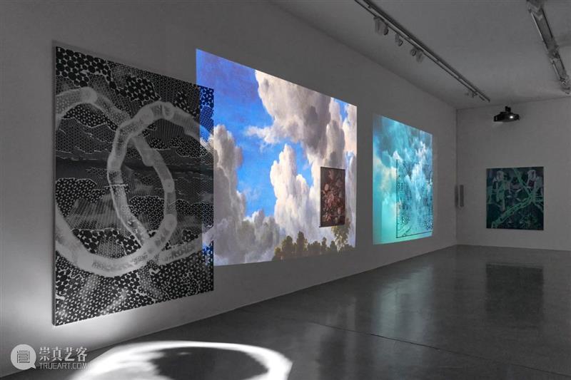 伦敦|展览现场|托比·齐格勒:铝塑板与油画作品的重叠。 伦敦 托比 齐格勒 油画 作品 铝塑板 现场 Lee 画廊 艺术家 崇真艺客
