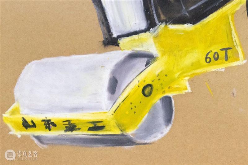 刘家冬绘画作品(三)|《相互没有爱》 相互没有爱 作品 刘家冬 绘画 地上 现场图 工作室 画廊 上海 Studio 崇真艺客