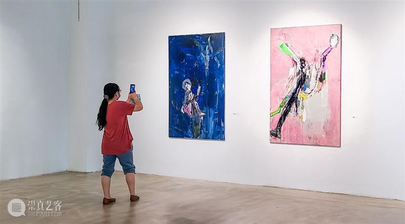 """帕维尔 · 胡卡 :""""积聚与生成——2020上海当代艺术展""""参展艺术家 艺术家 帕维尔 胡卡 上海 艺术展 作品 Works 乔托 之后 帆布 崇真艺客"""