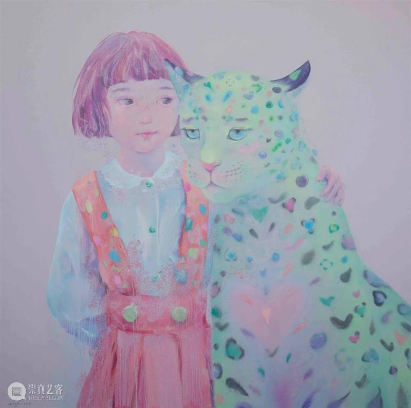 张子叶   动物习性 张子叶 动物 习性 Zhang 模样.58 布面 油画 作品 观者 视觉 崇真艺客