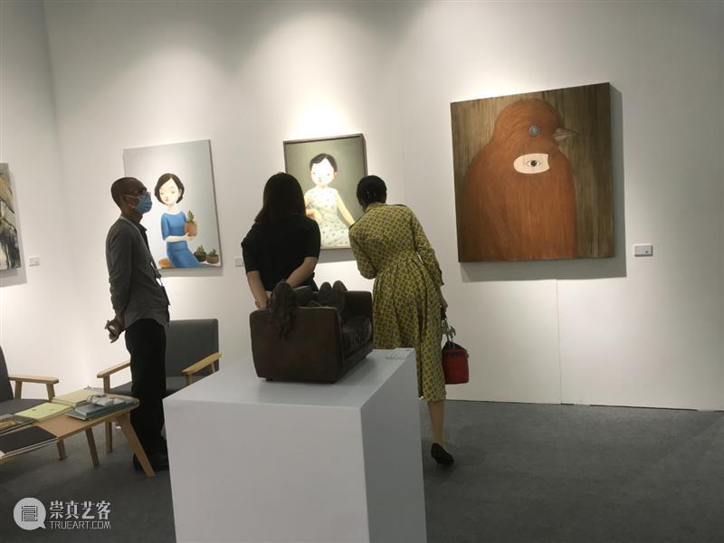 博览会|2020艺术深圳DAY3: 展览现场 艺术 深圳 现场 博览会 ART SHENZHEN 展位 Booth VIP PREVIEW 崇真艺客
