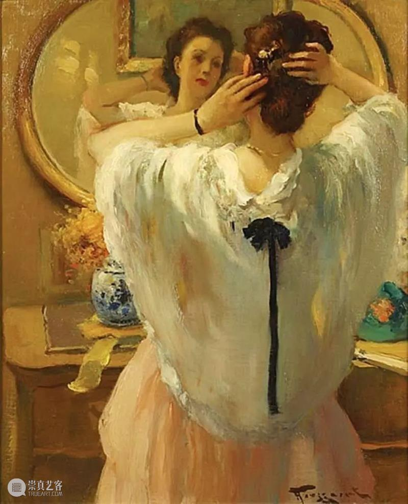 和谐色调,超级美的古典油画艺术 色调 美的 油画 艺术 弗尔南 图森特 布鲁塞尔 家庭 比利时 巴黎 崇真艺客