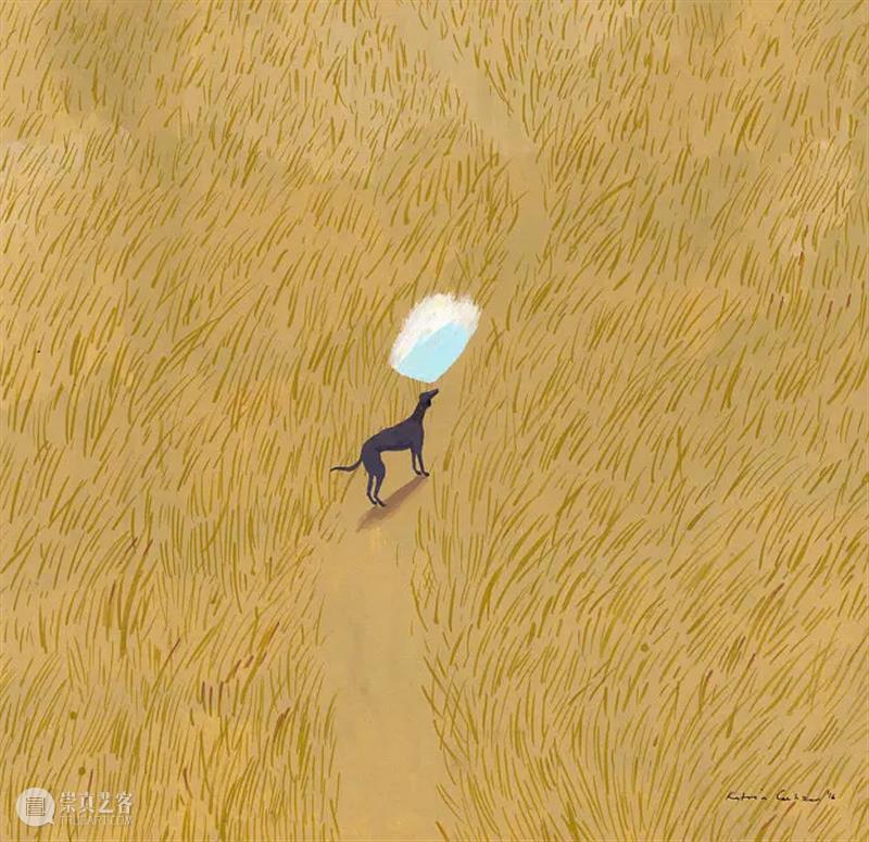 朴拙而恬静的画面 画面 南非 插画家 Katrin Coetzer 自然主义 气息 梦幻 作品 自然 崇真艺客