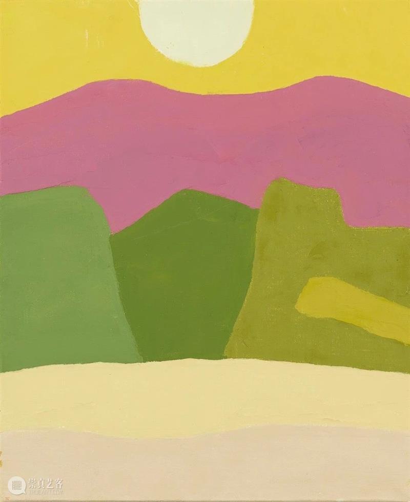 【IFA-艺术赏析】斑斓丨Etel Adnan Adnan 艺术 IFA 一生 中大 部分 时间 加利福尼亚州 一段时间 中东 崇真艺客