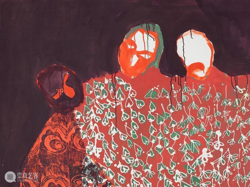 卓纳伦敦 | 波西亚·兹瓦瓦赫拉(Portia Zvavahera)个展 卓纳 波西亚 兹瓦瓦 赫拉 伦敦 个展 画廊 地方 局部 梦中 崇真艺客