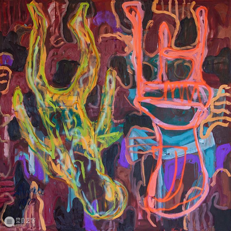 展览现场   格雷沙姆•塔皮瓦•尼奥德:花从心里开出来 心里 格雷沙姆 塔皮瓦 现场 尼奥德 True Optimism 艺术家 尼奥德展期 地点 崇真艺客