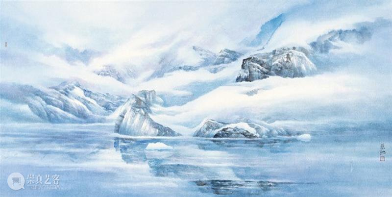 新展预告 | 琴瑟和鸣:乐震文 张弛联展 乐震文 张弛 琴瑟和鸣 新展 南极大陆 南极 阿德利企鹅 面前 冰雪 生命 崇真艺客
