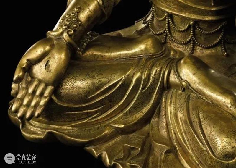 神妙玄奥:宋代鎏金铜观音菩萨坐像 铜观音菩萨坐像 鎏金铜观音菩萨坐像 公分 港币 鎏金 面相 风格 造型 造像 旧金山亚洲艺术博物馆 崇真艺客