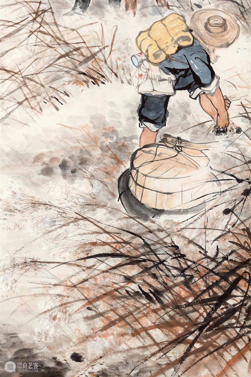 『中贸圣佳25周年春拍』   献礼国庆 红色经典 唐云 — 搏斗风雨中 唐云 红色 经典 风雨 拍卖会 Sungari Anniversary Auction 中国 书画 崇真艺客